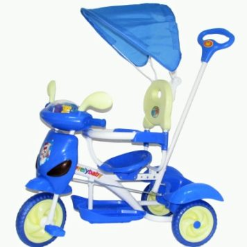 Tricicleta Copii cu Oglinzi
