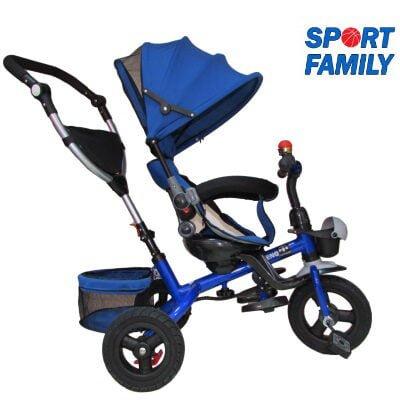 Tricicleta Copii Scaun Rotativ