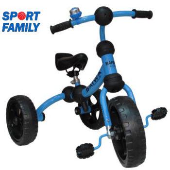 Tricicleta cu trei roti