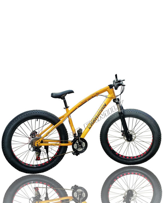 Bicicleta Fat Bike Rosu
