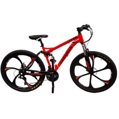 Bicicleta Caraiman cu suspensii