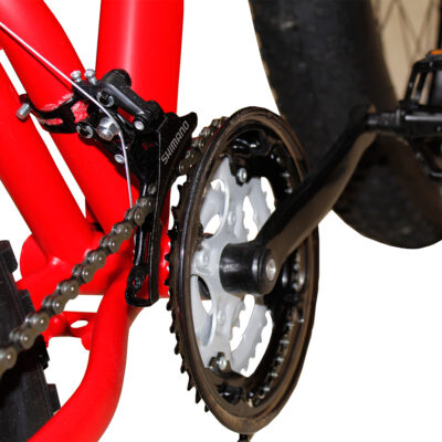 Bicicleta Fat Bike Rosu
